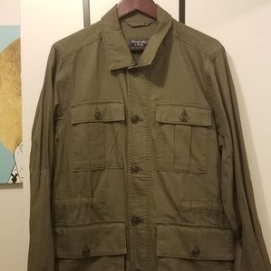 Mens Abercrombie & Fitch Safari Jacket Size Medium
